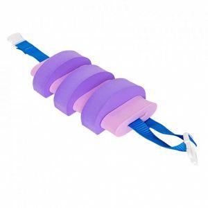 Plavecký pás AGAMA Swim 7 dílů - růžovo-fialový