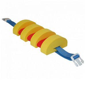 Plavecký pás AGAMA Swim 7 dílů - červeno-žlutý