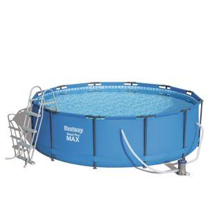 Bazén BESTWAY Steel Pro Max 366 x 100 cm set s kartušovou filtrací