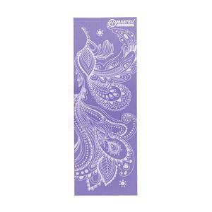 Podložka na cvičení MASTER Yoga PVC 8 mm - 173 x 61 cm - fialová