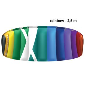 Kite komorový CROSS Air rainbow - vel. 2,5 m