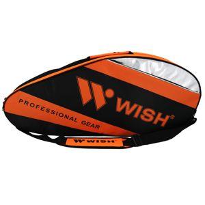 Badmintonová taška WISH WB-3035 oranžovo-černá