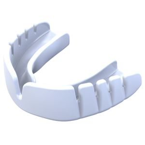 Chránič zubů OPRO Snap Fit junior - bílý