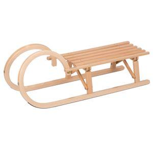 Sáně dřevěné VT-SPORT Rohačky délka 100 cm - skládací
